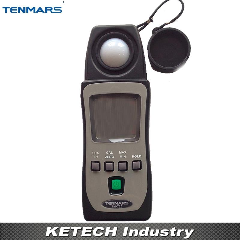 LUX/FC Lux Meter Light Meter Tester Illuminometer TENMARS TM720 mini digital lux meter light meter lux fc measure tester