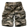 2016 brand men clothing Summer casual army camouflage cargo cotton Short pants military fashion beach man shorts