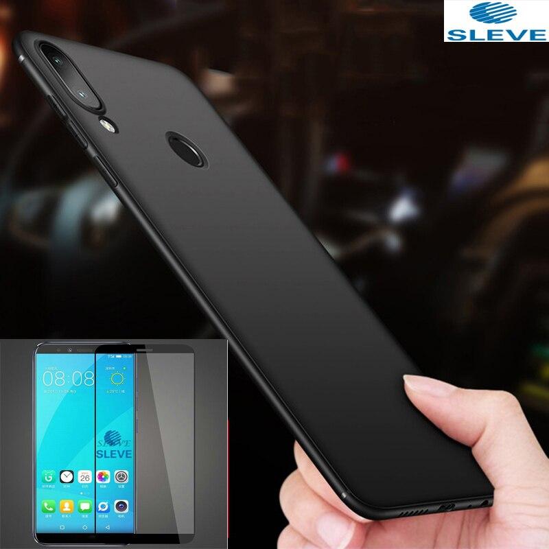 Pour Lenovo K5 Pro étui en verre trempé housse de Protection complète avec verre trempé complet pour Lenovo K5 Play L38011 K5play étui