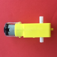 K247Y DC 3-6V 100RPM Mini Electric Reduction Plastic DC Gear Motor Biaxial Output DIY Car Robot Engine Toys Parts