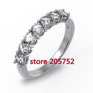 Корейский стиль Женский коготь на палец чистота кольцо на заказ Чемпионат Кольца западные свадебные кольца 925 7 8 9