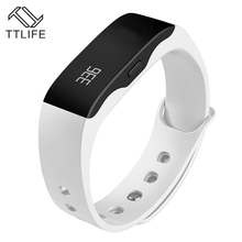 TTLIFE бренд мужчины женщины Смарт-часы вызова сообщение напоминание моды случайные цифровой браслет сигнализации LED Relogio Feminino Наручные часы