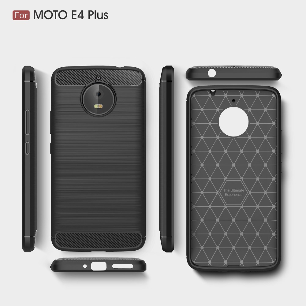 more photos 07387 42420 US $2.07 6% OFF|BYHeYang For Motorola Moto E4 Plus Case Carbon Fiber Soft  Silicone Cover Shockproof Slim Protection Phone Shell For Moto E4 Plus-in  ...