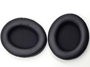 Image 3 - อัพเกรดหนังเทียมเบาะหูแผ่นปลอกหมอนสำหรับsony mdr 7509hd v600 v900 hd z600หูฟังดีเจ