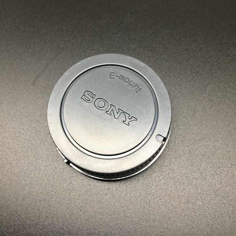 Capuchon anti-poussière + capuchon arrière pour objectif sony appareil photo numérique à objectif Interchangeable A6300 a6000 a6500 A5100 A7R/A7S/m2