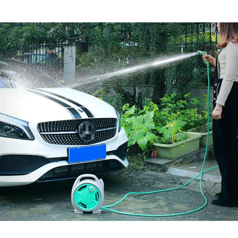 car wash tool Foldable Water Hose Sprayer Foam Nozzle High Pressure 6 Spary Pattern 44FT Pipe for Car Wash Gardening Pet Shower metal hose nozzle high pressure water spray gun sprayer garden auto car washing