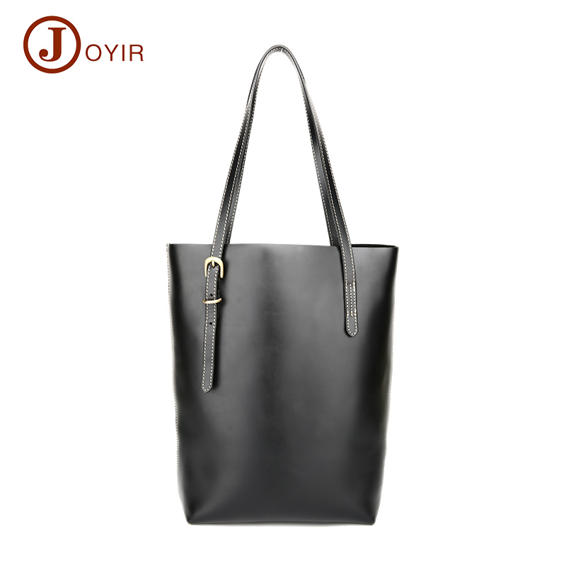 JOYIR Luxury Handbags Women Messenger Crossbody bags Designer Genuine Leather Shoulder Lady Black Tote Bag Gift Bolsa Feminina
