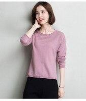 100% lana suéter mujeres moda suéter caliente invierno nuevo desigual China fábrica al por mayor envío gratuito