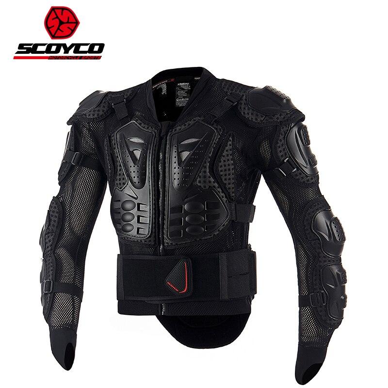 2017 nouveau SCOYCO knight cross-country moto armure équitation équipement de protection anti-chute costumes équipement armures vêtements veste