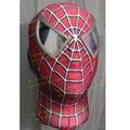 Linglong Super Quality Custom Made Hero Toby Spider-Man Cosplay Mask Elastic Spiderman Mask With Eyes Raimi Spiderman Mask