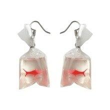 Фотография funny Goldfish bag earrings