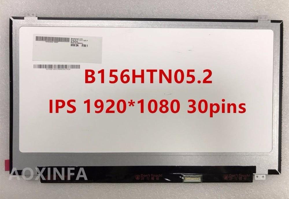 15.6 3D LCD Screen Display B156HTN05.2 1920X1080 FHD edp 30pin 1920X1080 120HZ n173hge e11 b173htn01 1 led lcd laptop screen 1920x1080 fhd panel display edp 30pin 17 3