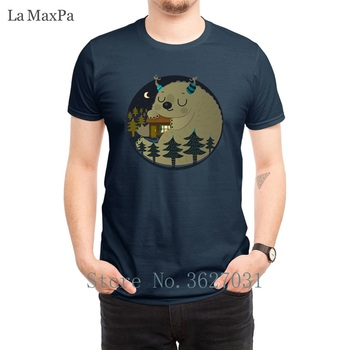 Create Letter T-Shirt Man Home Is Where Monsters Live T Shirt For Mens Humorous 2018 Tee Shirt For Mens Nice Cotton Tshirt Fit