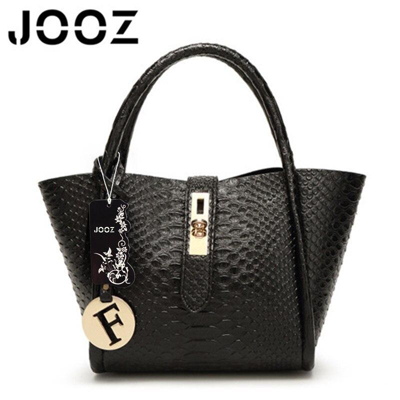 JOOZ Brand Luxury Alligator Pattern F Sequined Female Handbag Lady PU Leather 2 Pcs Composite Bags Women Shoulder Crossbody Bag