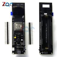 For TTGO ESP32 0 96 0 96 Inch OLED Display WiFi Bluetooth 18650 Lithium Battery Shield