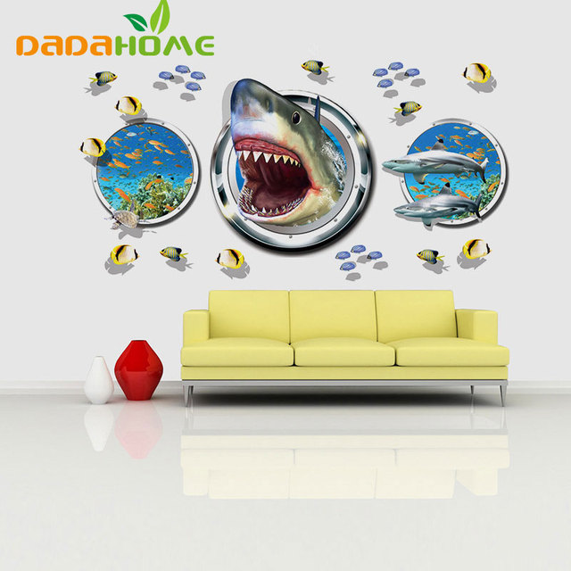DIY 3D Wall Sticker Nautical Decor Anime Poster Wall Stickers For ...