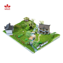 Chinese Style--Ancient Residential Garden DIY Model