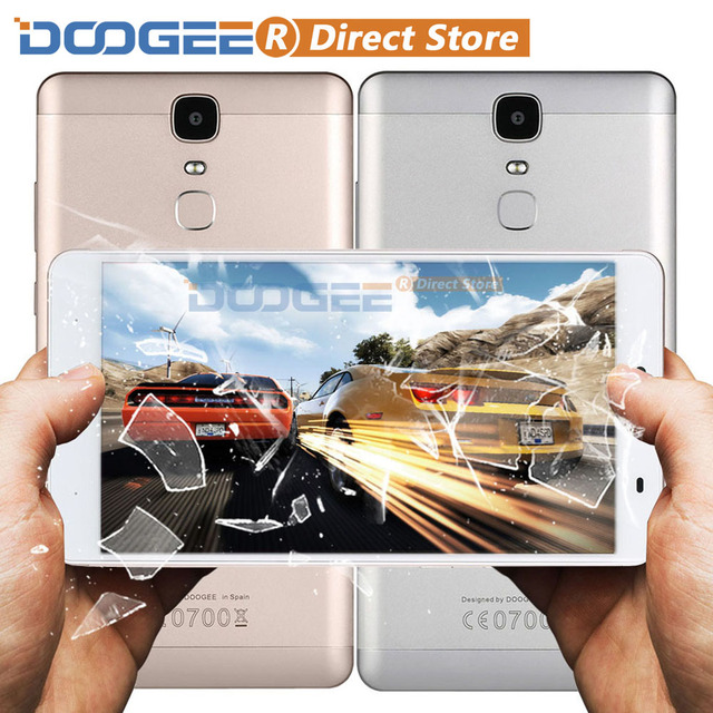 "DOOGEE Y6 Max 4G 6.5"" FHD 1920*1080 Fingerprint ID Smartphone Android 6.0 MTK6750 Octa Core 3GB+32GB 13MP 4300mAh Mobile Phone"
