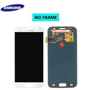 Image 5 - Ban Đầu 5.1 Super AMOLED LCD Dành Cho Samsung Galaxy Samsung Galaxy S7 G930 SM G930F G930F Màn Hình Hiển Thị LCD Với Bộ Số Hóa Cảm Ứng Thay Thế