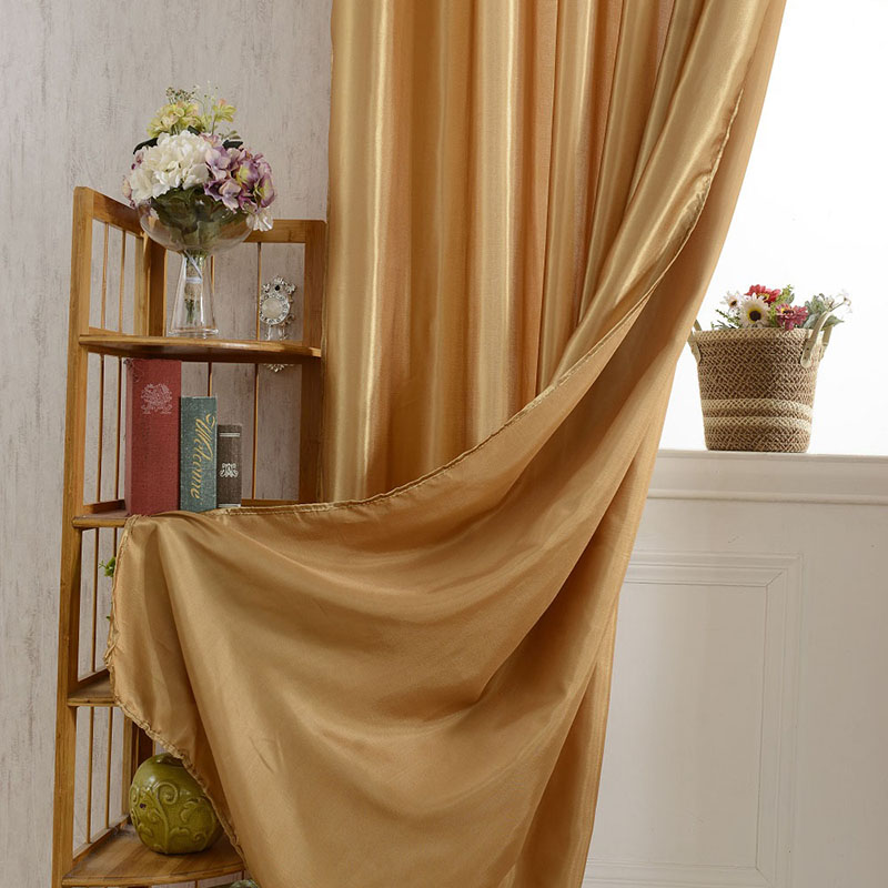 Multi Color Curtains Shade Blackout Curtains Living Room Bedroom Sheer  Solid Polyester Cortinas Para Quarto