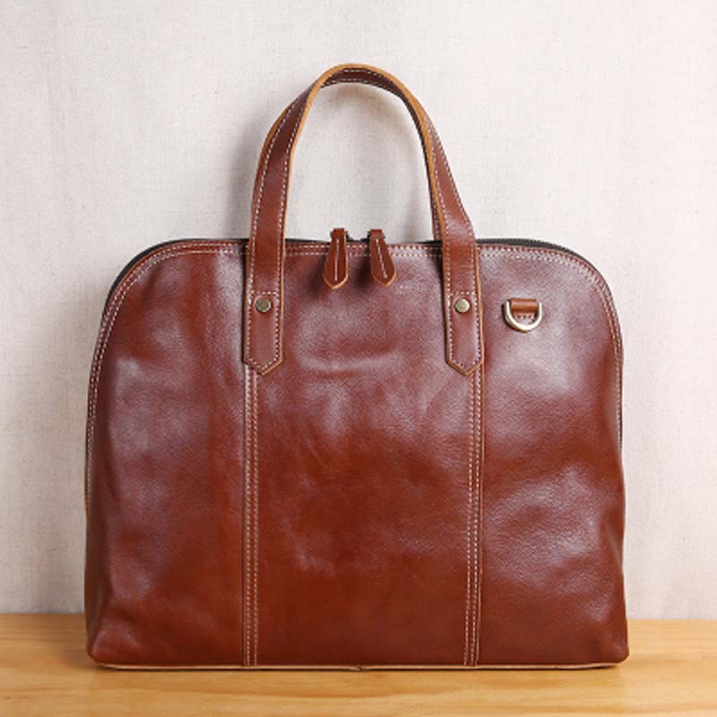 AETOO Retro leather business casual briefcase large capacity computer bag leather men bag shoulder Messenger bag retro british school women messenger bag embossed hollow out shoulder briefcase department of forestry casual satchel