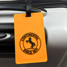 3D PVC Luggage Tags Baggage Identiffication Tag Promotion Gifts Custom Logo available