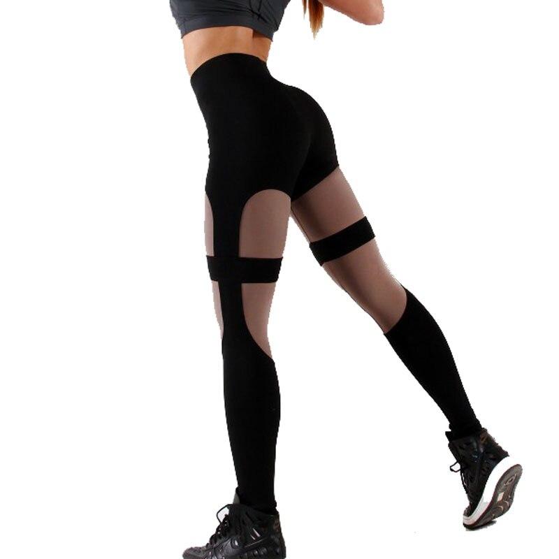 867.77руб. 46% СКИДКА|Женские леггинсы для тренировок LAISIYI, леггинсы с высокой талией, леггинсы для фитнеса из полиэстера, дышащие, Лоскутные, черные, красные, одежда, джеггинсы|Легинсы| |  - AliExpress