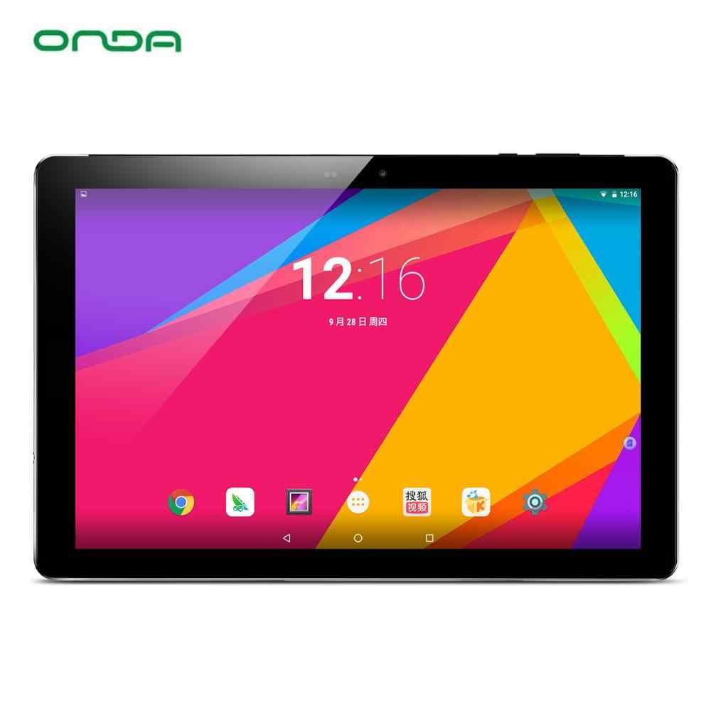 Onda V18 Pro планшетный ПК Allwinner A63 Quad-Core, 3 Гб оперативной памяти, 32/64 Гб Rom 10,1 дюймов 2560*1600 retina Экран Android 7,0 Wi-Fi и Bluetooth