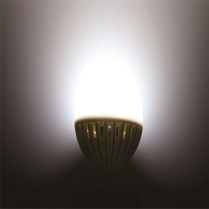 LED Bulb Motion Sensor Lamp 220V E27 Led Light 3W 5W 7W 9W 12W Sound Light Auto Smart Led Infrared Body Lamp in LED Bulbs Tubes from Lights Lighting