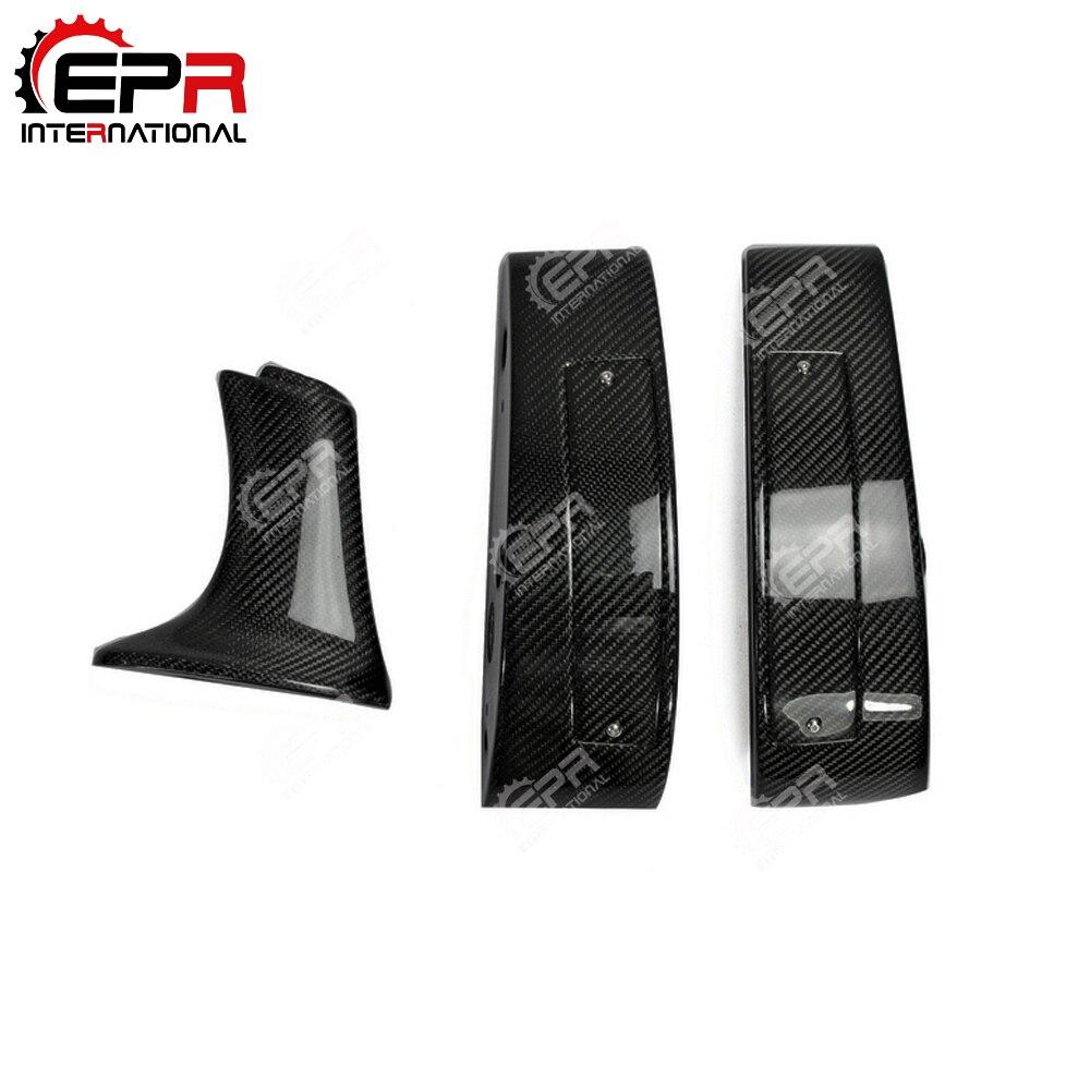 Carbon Fiber Rear Spoiler Boot Wing Raise Lifter Block Leg For Nissan R35 GTR