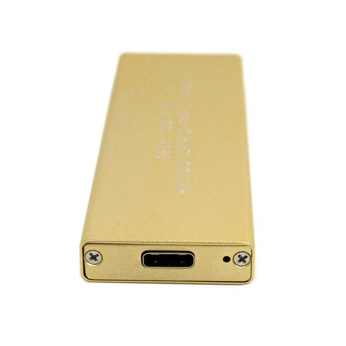 USB-C 3.1 80mm to M.2 NGFF SATA 2 Lane SSD Enclosure for E431 E531 X240 Y510P