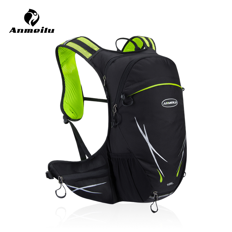 ANMEILU 18L Outdoor Water Bag Bladder Camping Sport Waterproof Bag Cycling Hiking Travel Hydration Backpack Women Men Rucksack 3l tactical water bottle bag knapsack hydration backpack pouch hiking camping cycling pack canteen water bag molle