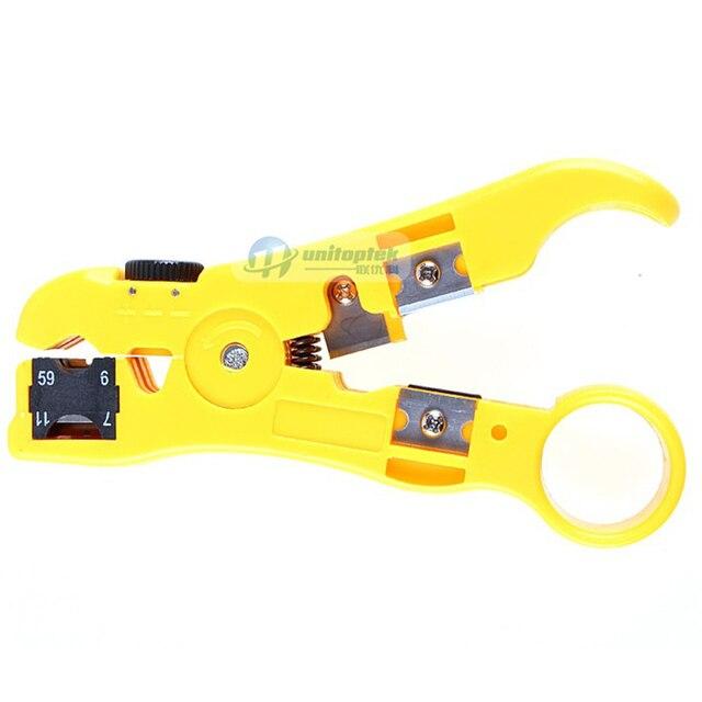 Outil de Compression doutil dinstallation de caméra de vidéosurveillance pour F/BNC/RCA RG-58/59/62/6(3C/4C/5C)