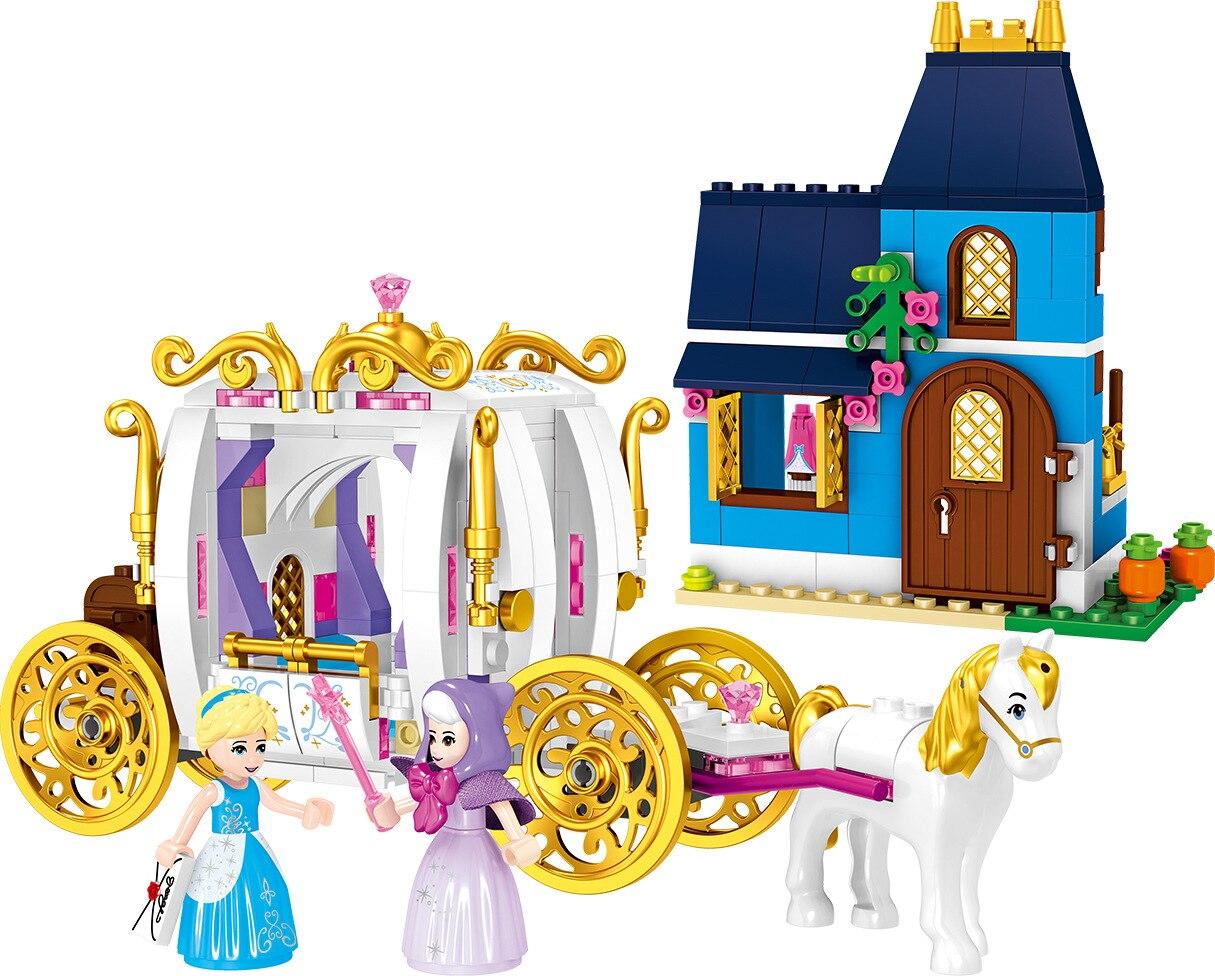 37046 Legoingly Friends 41146 Enchanted Evening 352Pcs Cinderella Girls Friend Building Block Toy For Children one enchanted evening