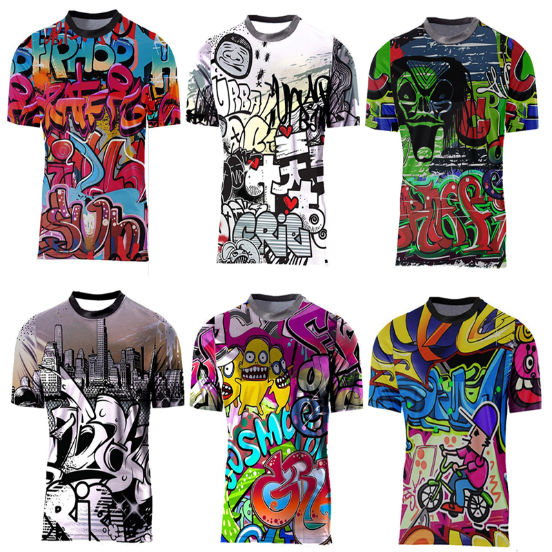 Mtb T-Shirt Jersey Dh-Clothing Short-Sleeve Mountain-Bike Enduro Motocross-Downhill Summer