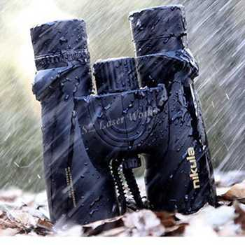 Nikula 10X42 Binoculars new professional Nitrogen Waterproof telescope Powerful Bak4 Night Vision hunting scope military compact - DISCOUNT ITEM  49% OFF Sports & Entertainment
