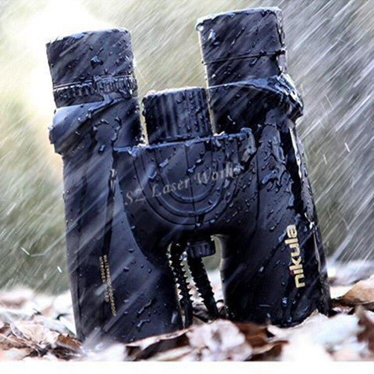 Nikula 10X42 Jumelles nouveau professionnel D'azote Étanche télescope Puissant Bak4 Nuit Vision chasse portée militaire compact
