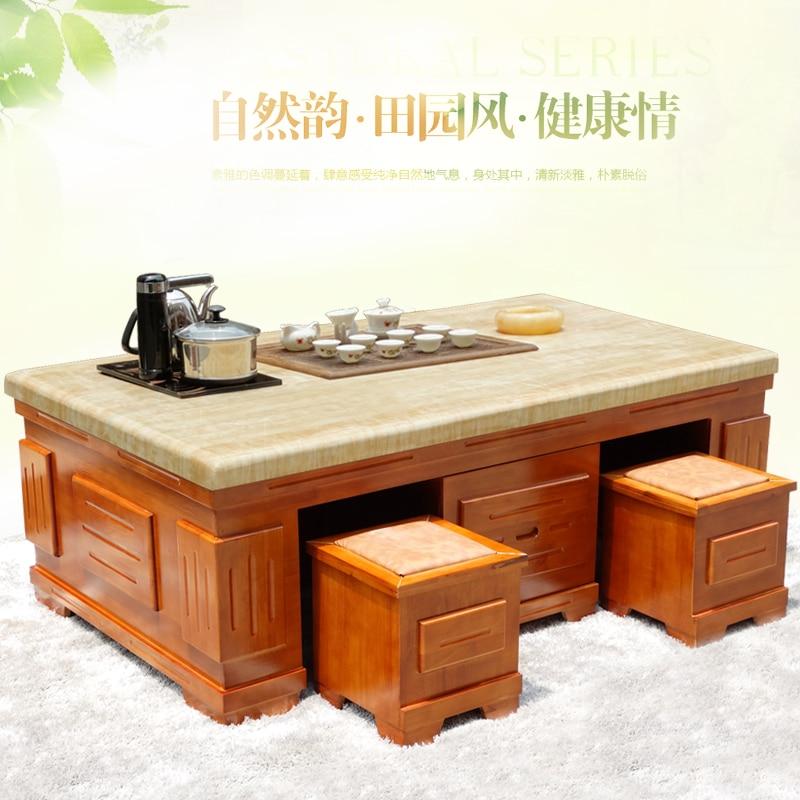 Marble Coffee Table Tea Wood Burning Stone Office Desk 998 Teasideend