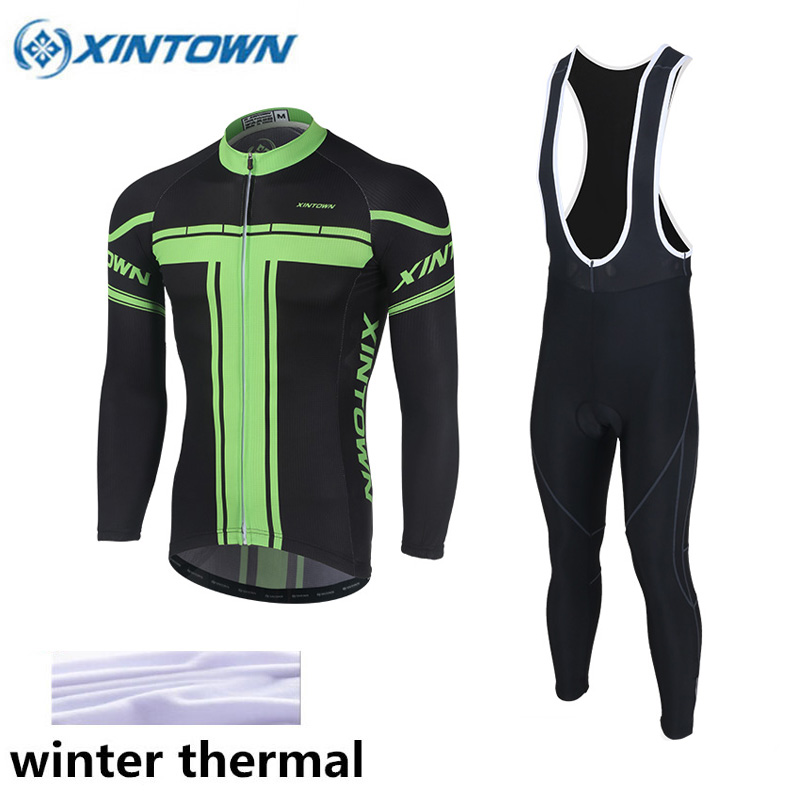 2017 Pro Team Cycling Winter Thermal Fleece Cycling Clothing Ropa Ciclismo Long Sleeve Winter Cycling Jersey Bicycle Clothing black thermal fleece cycling clothing winter fleece long adequate quality cycling jersey bicycle clothing cc5081