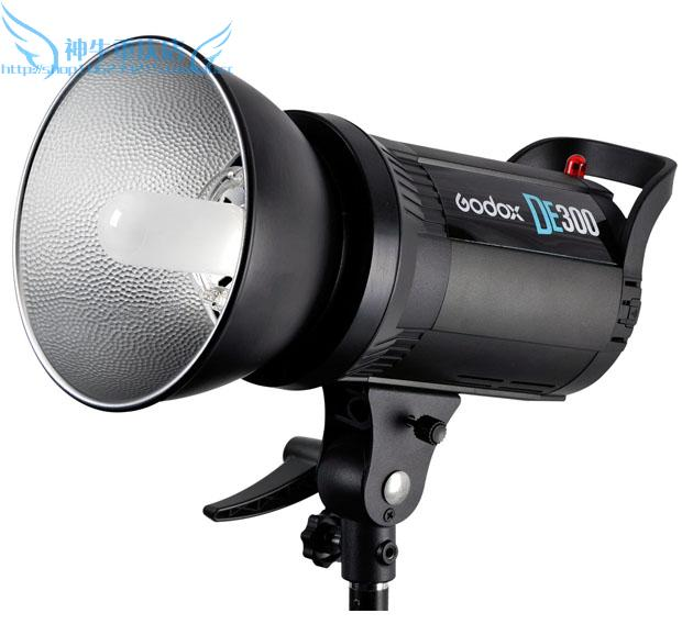 Professionale <font><b>godox</b></font> piu veloce <font><b>300</b></font> w studio flash strobe light 300d qs300 suporte para flash CD50 image