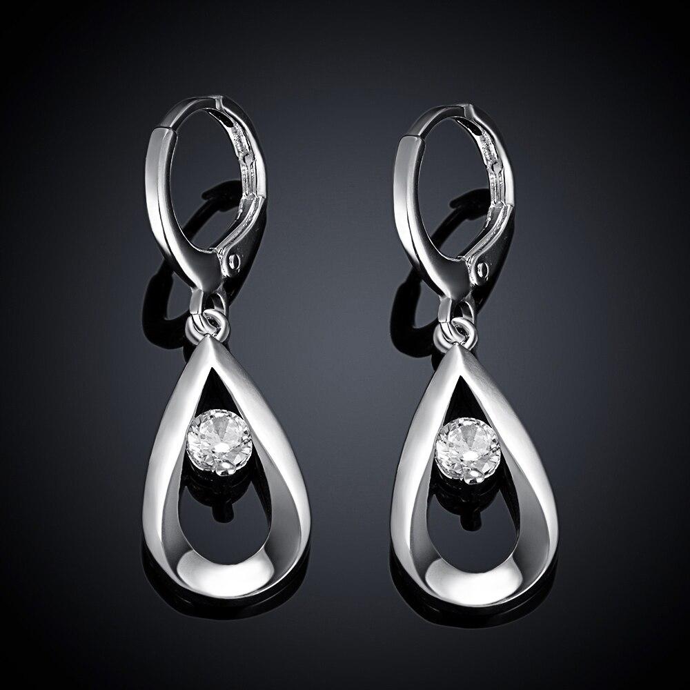 Nieuwe mooie mode kleur zilveren oorbellen sieraden voor vrouwen - Mode-sieraden - Foto 6