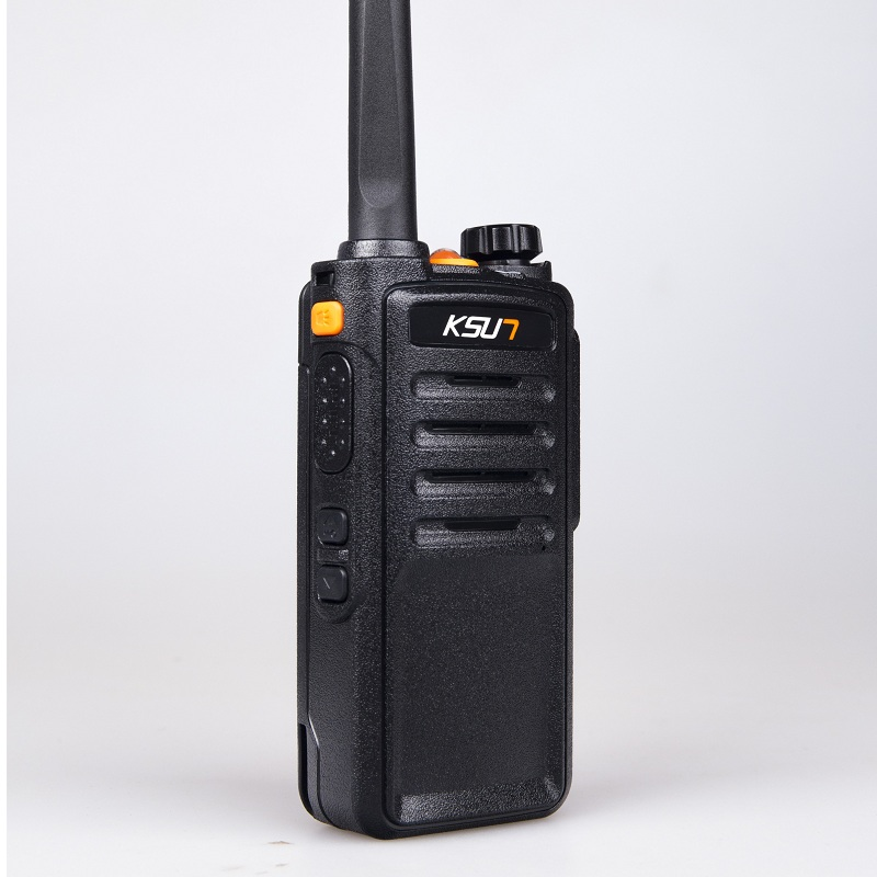 (6 PCS)Black KSUN X 63TFSI Walkie Talkie UHF 400 470 MHz MINI Handheld Transceiver Two Way Ham Radio Communicator - 3