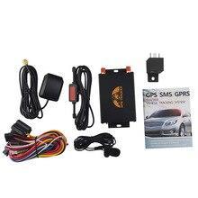 TK105A gps 105A автомобильная система coban Автомобильный gps трекер поддержка RFID камера датчик топлива с ограничителем скорости gps онлайн система слежения