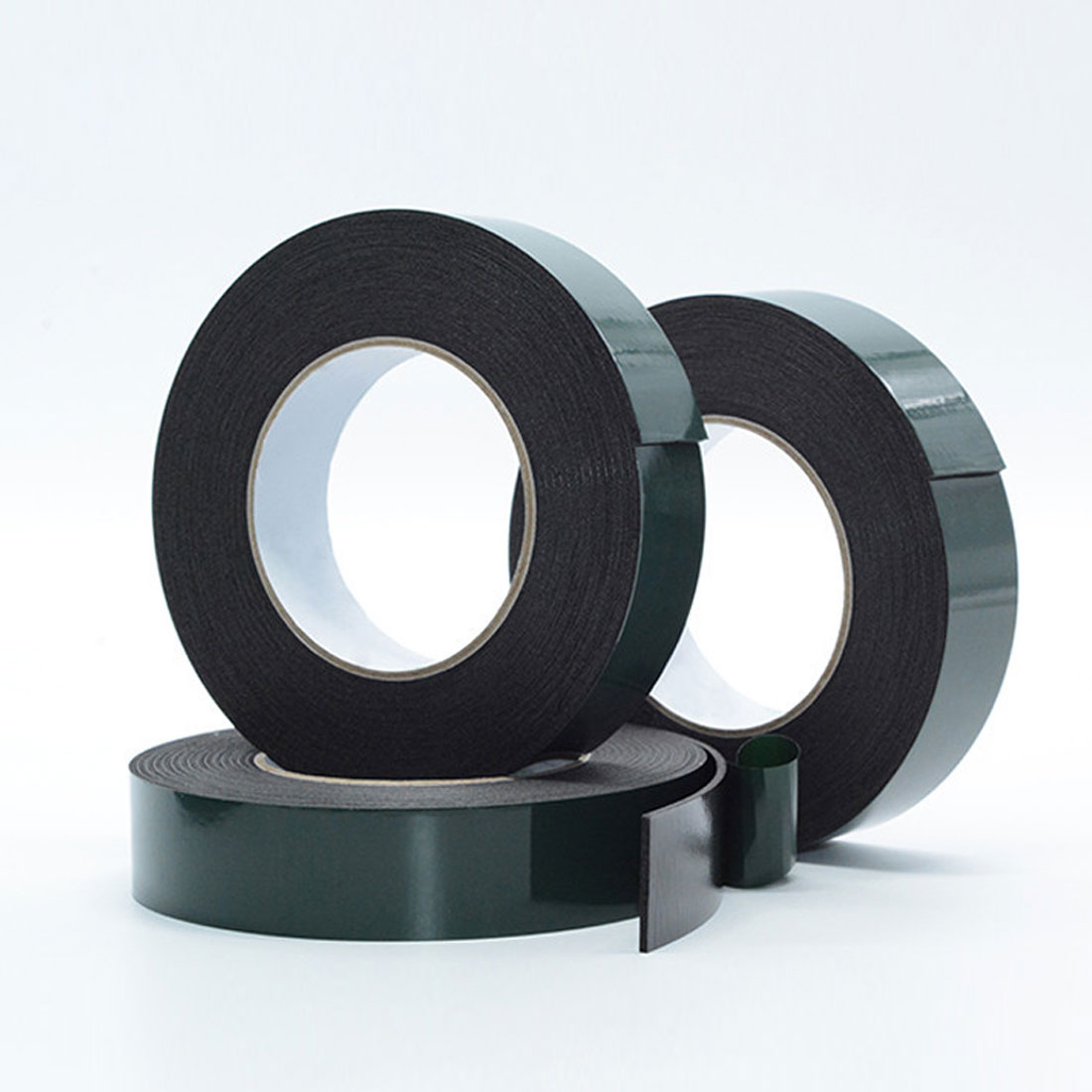 1 Pc 10m Length Strong Adhesive Waterproof Double Sided Tape High Quality 10mm Width Foam Green Tape Trim Home Car