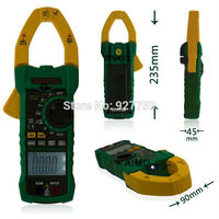 MASTECH MS2015A Professional Digital AC DC Clamp Meter True RMS Multimeters Current Frequency With Non Contact
