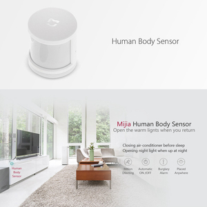 Image 5 - Xiaomi MIJIA 5 in 1 Smart Home Kit Bundle ZigBee Socket Gateway Hub Human Body Window Door Sensor Wireless Switch Mini