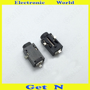 500pcs DC-055 Projecting-Head 3-Pin SMD All-Plastic DC Power Jack Socket for Tablet Quality Heat-Resistant Receptacle