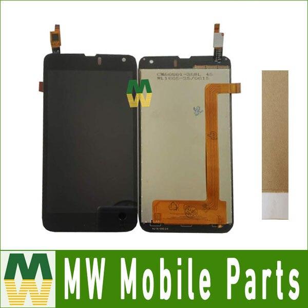 1 pc/lot Haute Qualité Pour Etuline S5042 LCD Écran + Écran Tactile Digitizer Assemblée Noir couleur