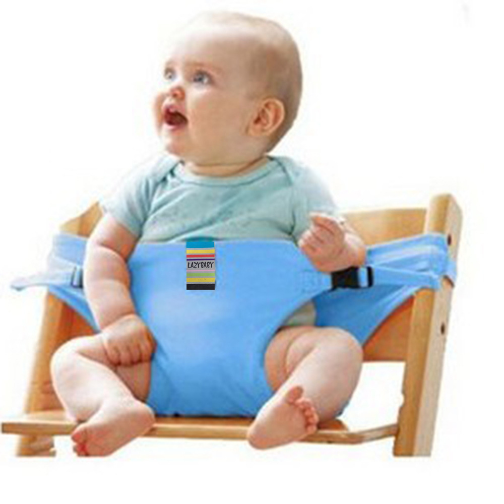 Brand Portable Baby Dinning Chair Children High Chairs Seat Belts ...