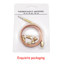Earth Star 1200mm Gas Furnace Universal Thermocouple M6x0.75 Replacement With Five Screws Exquisite Packaging